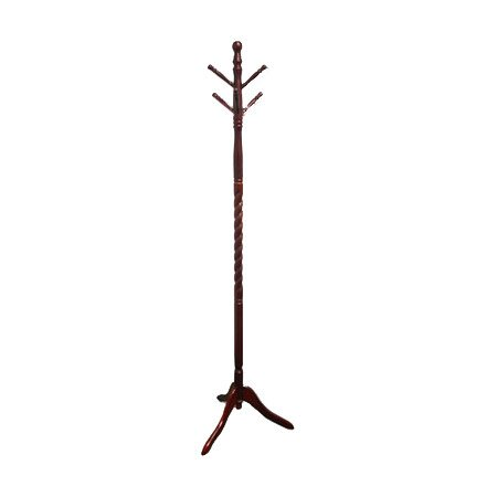 Granite Falls Coat Rack with Twist in Cherry by Wildon Home ®
