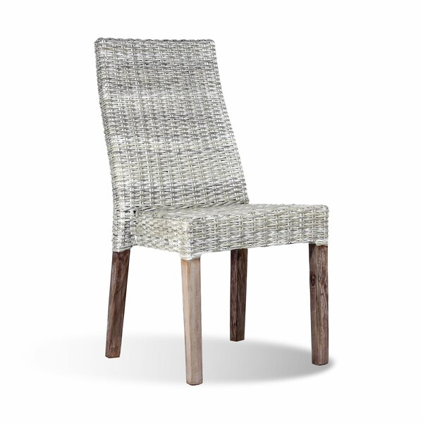 Sengwe Solid Wood Dining Chair by Ibolili
