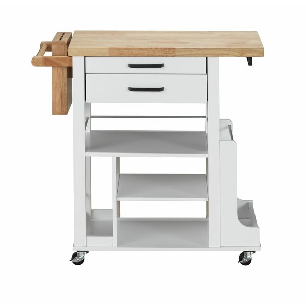 Monarrez Kitchen Cart by Winston Porter