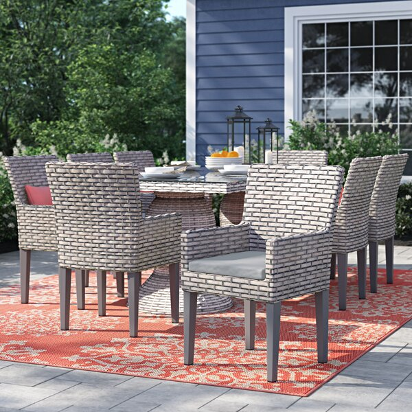 Rochford Patio Dining Chair with Cushion (Set of 2) by Sol 72 Outdoor Sol 72 Outdoor