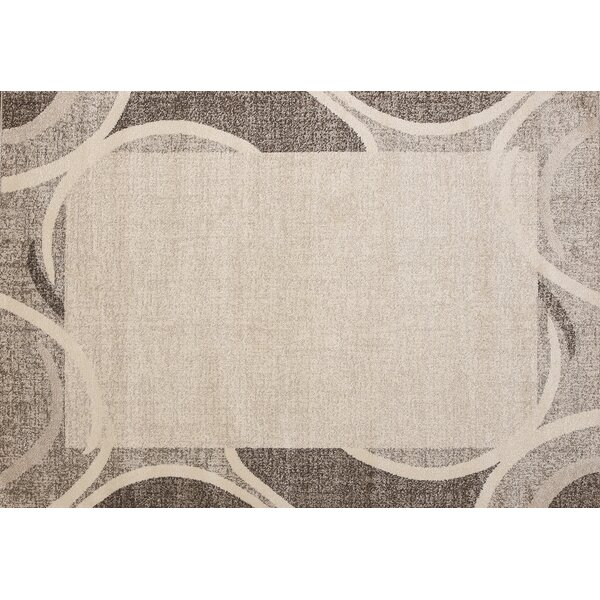 Haverhill Brown/Beige Area Rug by Ebern Designs
