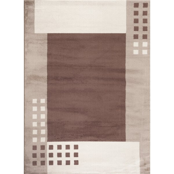 Toscana Cream/Brown Area Rug by World Rug Gallery