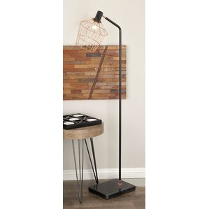 Black floor task lamp wayfair 62 task floor lamp mozeypictures Image collections