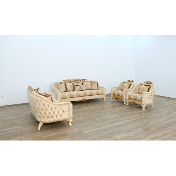 Phillips 3 Piece Living Room Set by Astoria Grand Astoria Grand