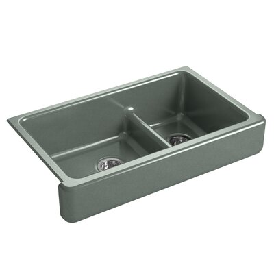 Kitchen Sink Double Bowl Basalt photo
