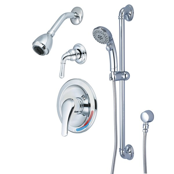 Single Handle Tub and Shower Faucet with Trim and Diverter by Olympia Faucets