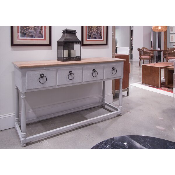 French 4 Drawer Buffet Table by Sarreid Ltd