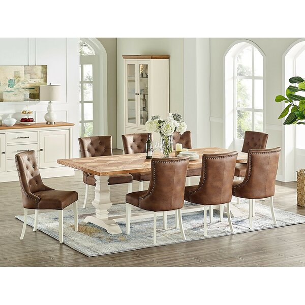Codnor 9 Piece Extendable Dining Set by Red Barrel Studio Red Barrel Studio