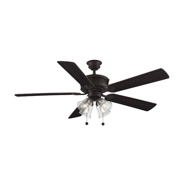60 Fazeley 5 Blade Ceiling Fan by Charlton Home