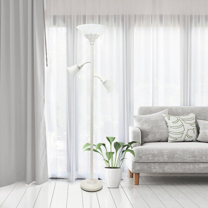 Fleur De Lis Living Arbour Glen 71 Quot Torchiere Floor Lamp Amp Reviews Wayfair Ca
