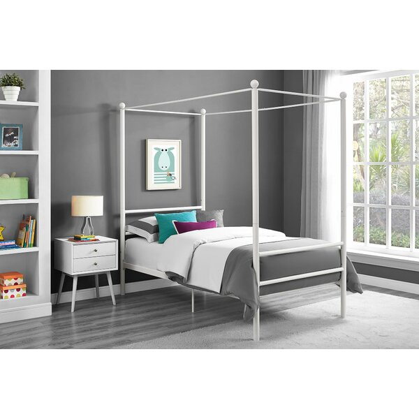Best  Lolington Canopy Bed By Greyleigh Today Sale Only