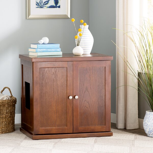 Clementine Wooden Litter Box Cabinet by Archie & O