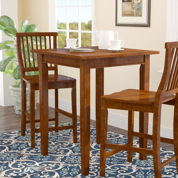 #2 Neela Counter Height Pub Table By Andover Mills Great Reviews