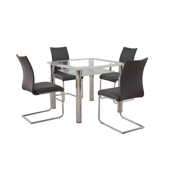 Figueroa 5 Piece Breakfast Nook Dining Set by Orren Ellis