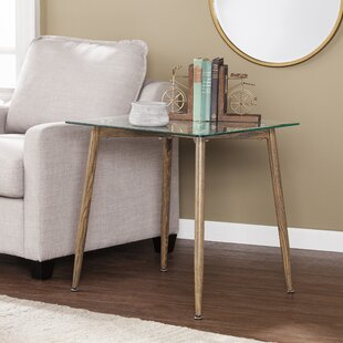 Buy luxury Demaio End Table ByWrought Studio