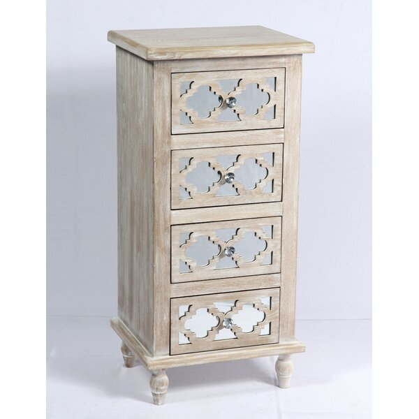 Amanda 4 Drawer Accent Chest by Ophelia & Co. Ophelia & Co.