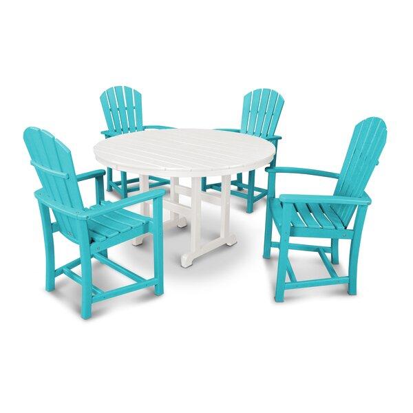 Palm Coast 5 Piece Dining Set by POLYWOOD®