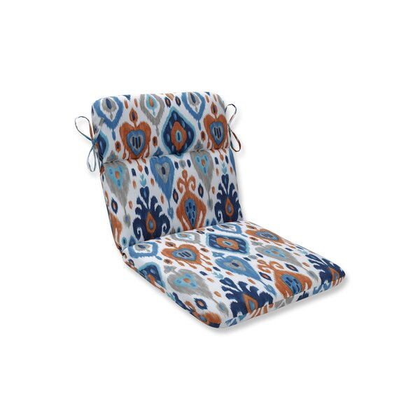 Azure Outdoor Dining Chair Cushion By Bloomsbury Market