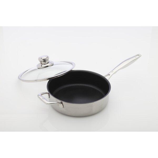 Prestige Saute Pan with Lid by Swiss Diamond