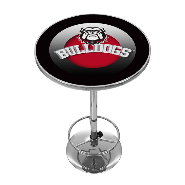Find NCAA University Of Georgia Pub Table By Trademark Global Great Reviews