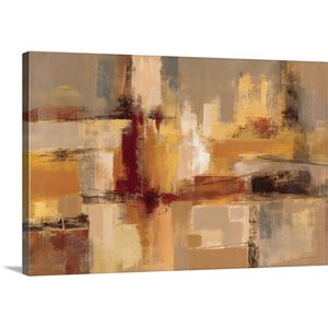 'Sandcastles' by Silvia Vassileva Painting Print on Canvas by Great Big Canvas