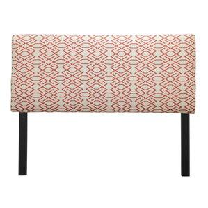 Ali Zoe Mandarin Upholstered Panel Headboard by Sole Designs