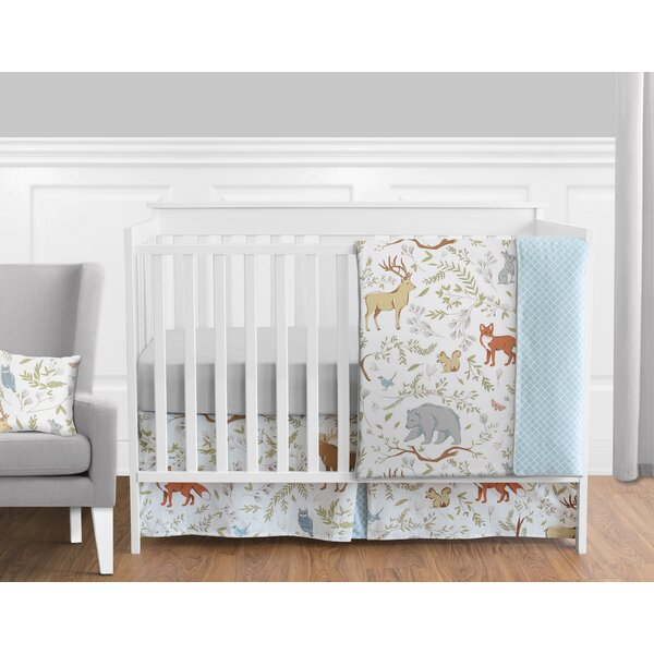 Woodland Toile 11 Piece Crib Bedding Set by Sweet Jojo Designs