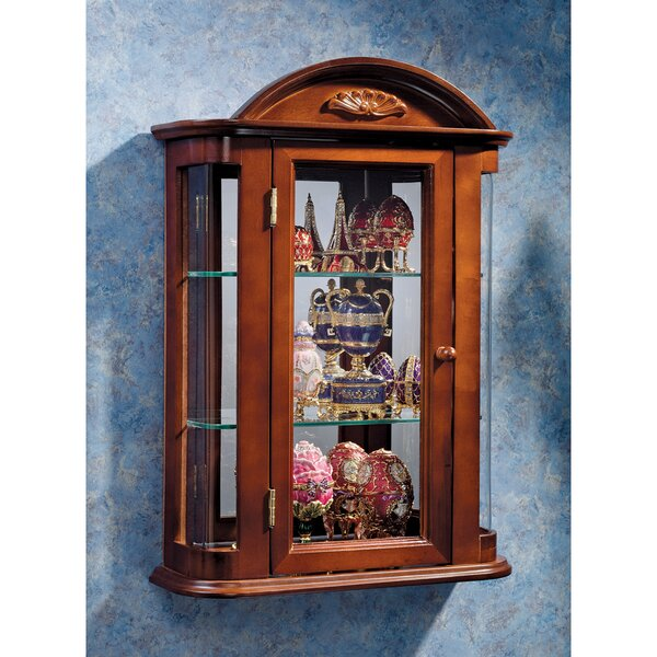 Pascual Wall Mounted Curio Cabinet by Astoria Grand