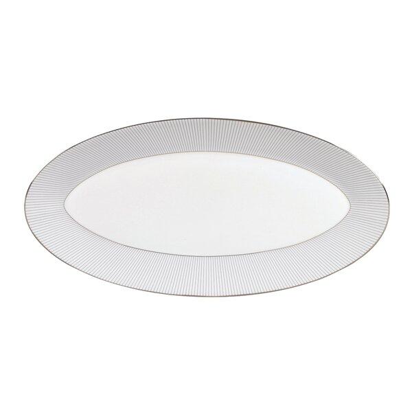 Pinstripe Oval Platter by Jasper Conran by Wedgwood