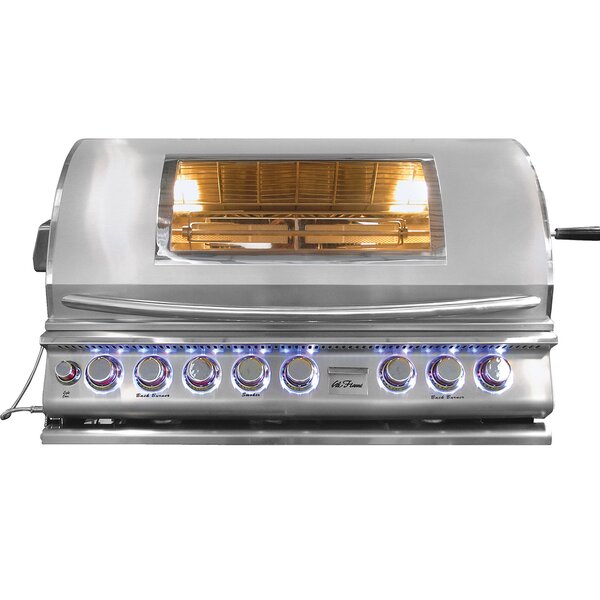 5-Burner Built-In Propane Gas Grill by Cal Flame