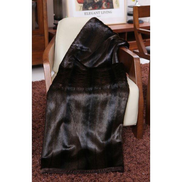 Kanekaron Faux Fur Throw by Lindsey Home Fashion