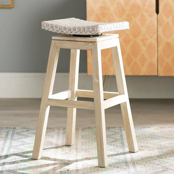 Destini 30 Swivel Bar Stool by Mistana