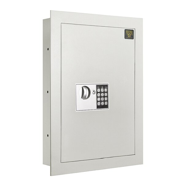 Quarter Master Digital Keypad Premium Home Office Security Commercial Wall Safe by Paragon Safe