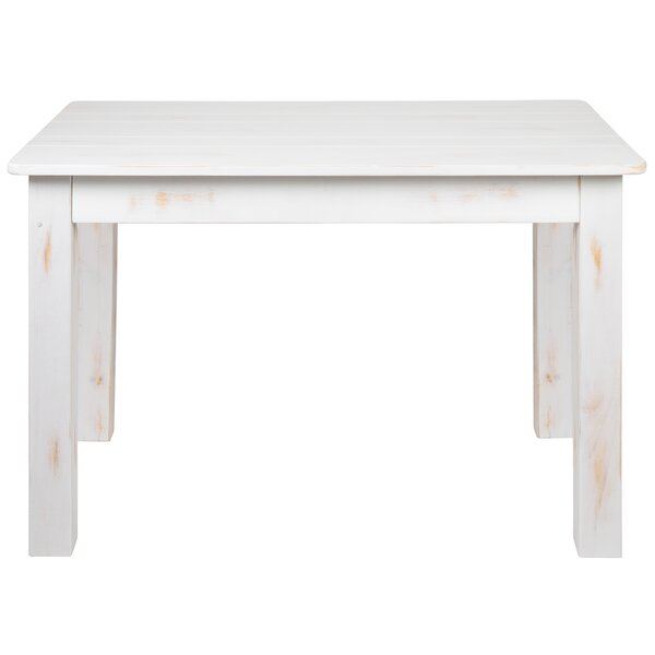 Febe Pine Solid Wood Dining Table by Gracie Oaks Gracie Oaks