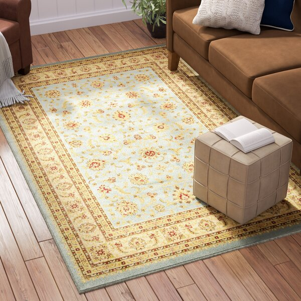 Fairmount Light Blue Area Rug by Three Posts