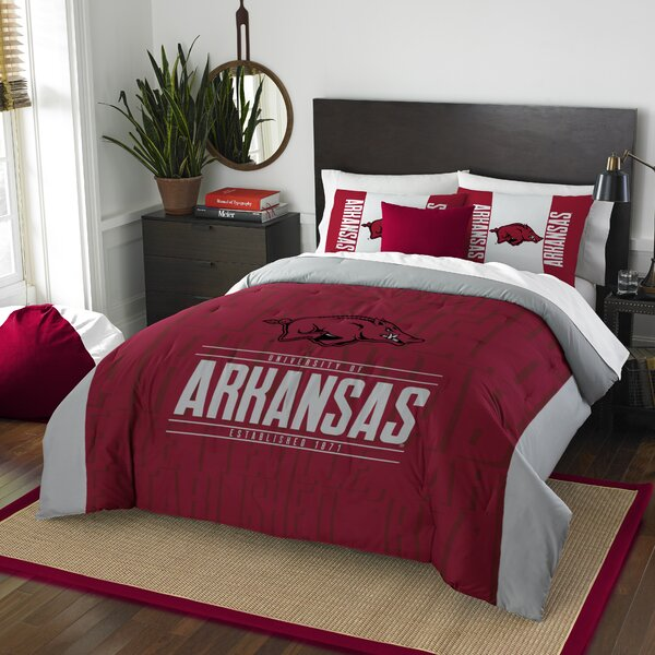 NCAA 3 Piece Full/Queen Comforter Set by Northwest Co.