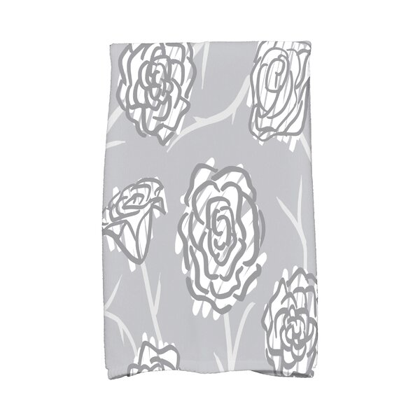 Cherry Spring Floral 2 Hand Towel by Latitude Run