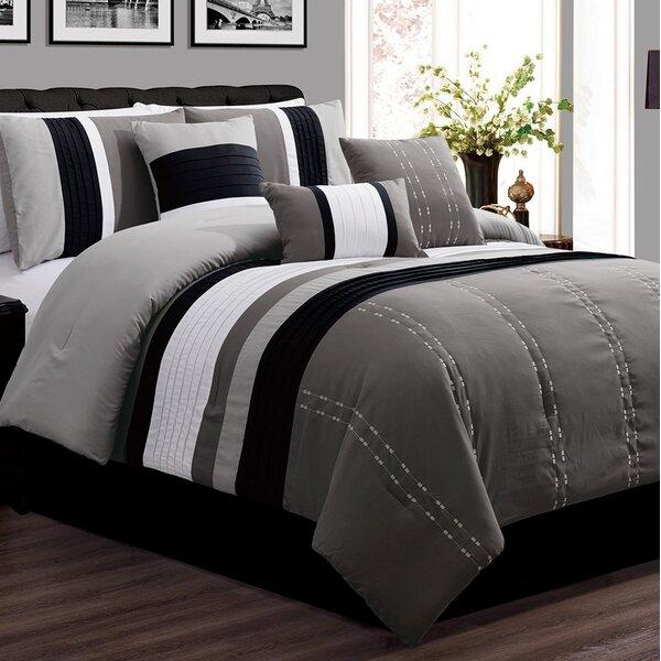 Hoefer Luxor Comforter Set by Charlton Home