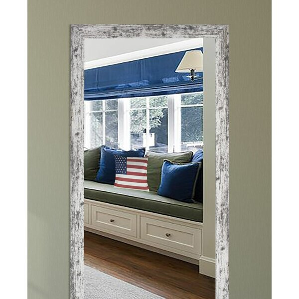 Lloyd Weathered Full Length Mirror by August Grove