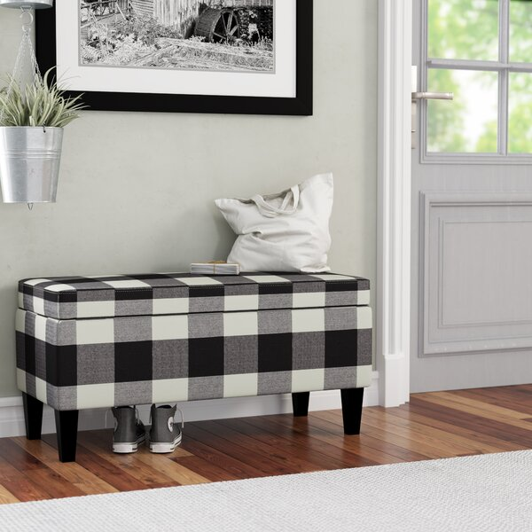 Shetye Decorative Upholstered Storage Bench by August Grove