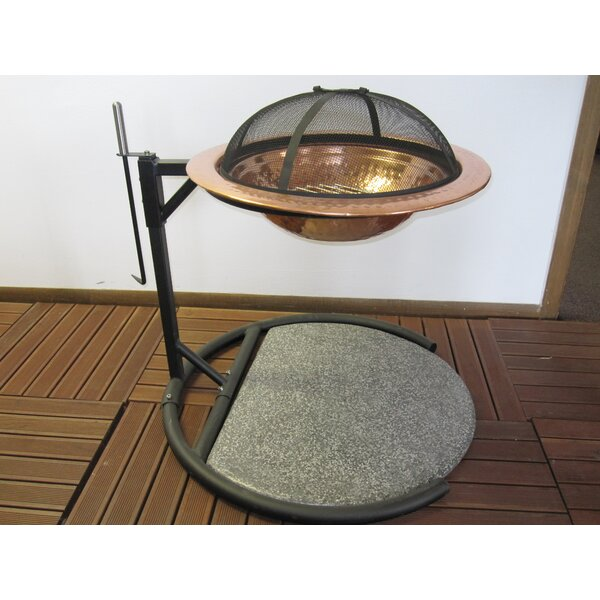 Copper Floating Wood Burning Fire Pit by Pomegranate Solutions, LLC