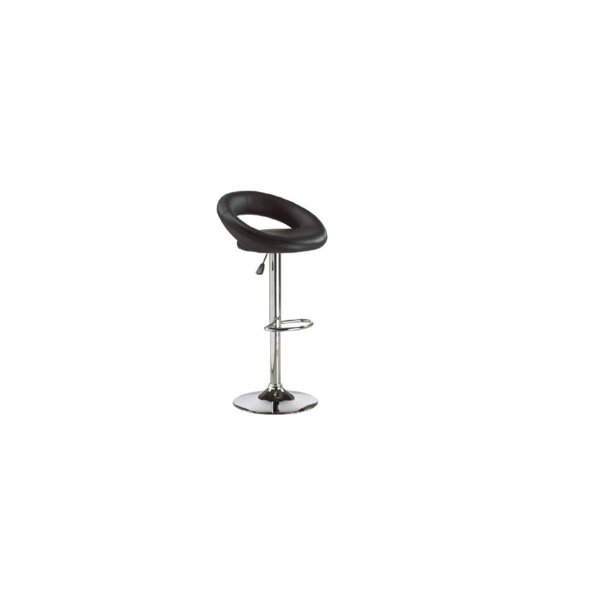 Heiman PU Leather Adjustable Height SwivelBar Stool (Set of 2) by Orren Ellis Orren Ellis