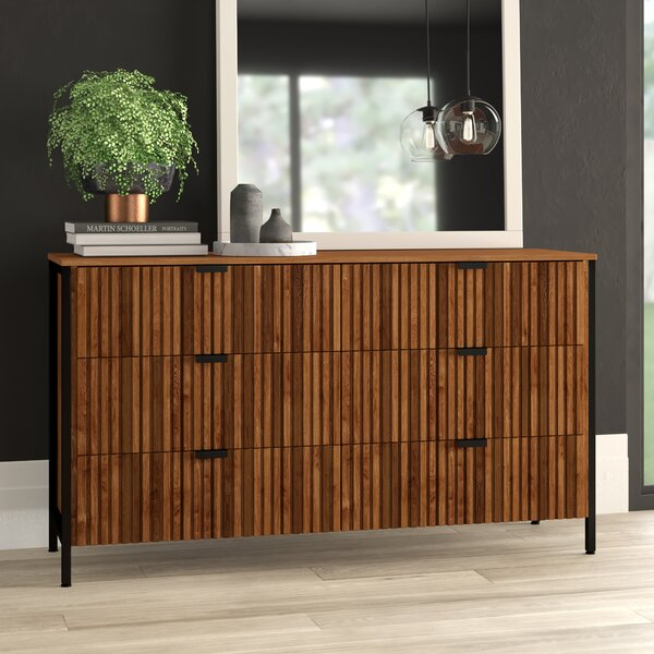 Mcdonell 6 Drawer Double Dresser by Mercury Row