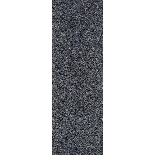 Isla Charcoal Rug Longweave Rug Size: Runner: 67 x 220cm