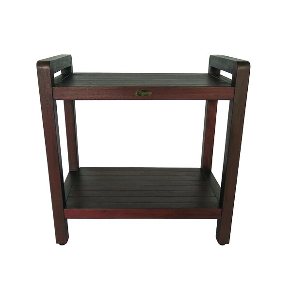 Outdoors Ergonomic Teak Side Table by Decoteak