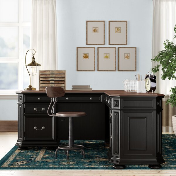 Needham L-Shape Executive Desk