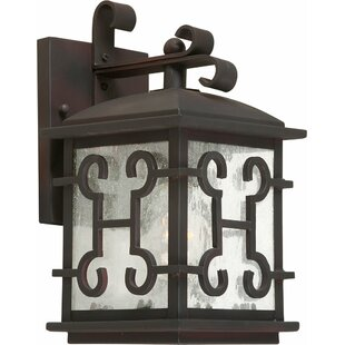 Bargain Madge 1-Light Outdoor Wall Lantern By Charlton Home