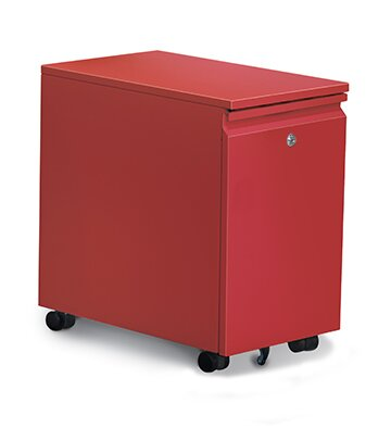 Storage 2-Drawer Mobile Vertical Filing Cabinet by Rebrilliant