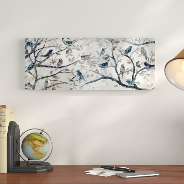 Morning Chorus Graphic Art Print On Wrapped Canvas By Charlton Home.