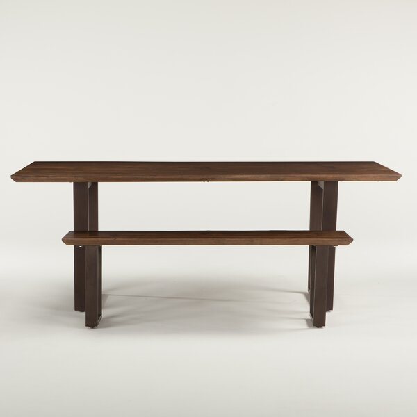 Clanton Wood Bench by Gracie Oaks